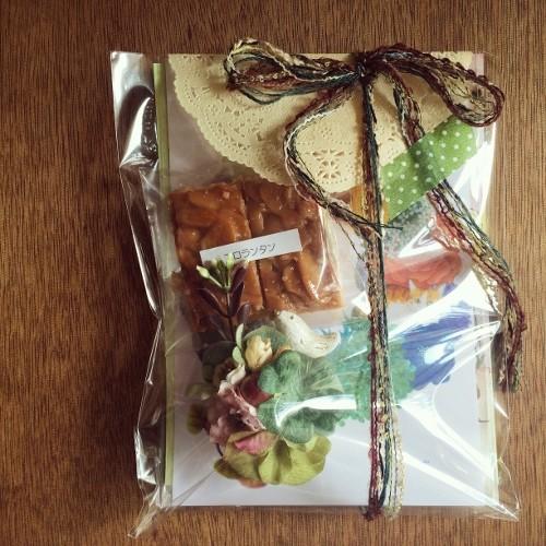 ヒキダシワークショップ・20150228 YURAお土産
