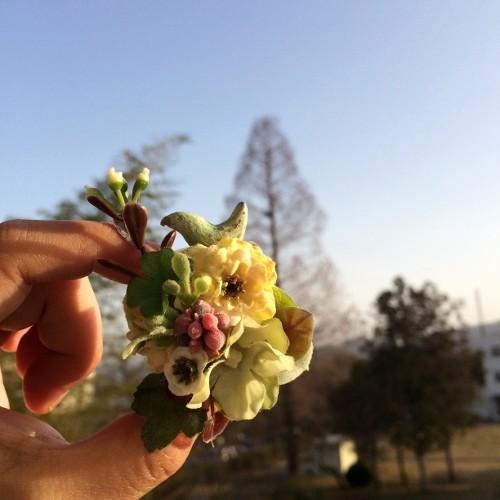 YURA・kikuko 春の小鳥マグネット